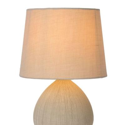 Levné Lampy a lampičky: Moderní stolní lampa RAMZI, E14, 1 x 40W, krémová