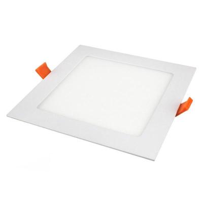 Levné Stropní svítidla: Zápustný LED panel, 18W, 2800K, teplá bílá, 22,5x22,5cm, bílý, čtverec