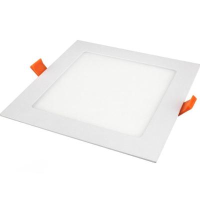 Levné Stropní svítidla: Zápustný LED panel, 24W, 2800K, teplá bílá, 30x30cm, bílý, čtverec