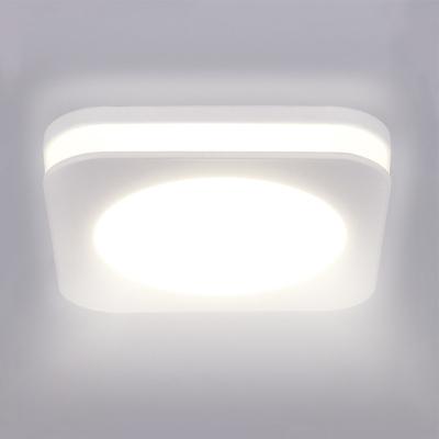 Levné Stropní svítidla: Solight LED koupelnové podhledové svítidlo, čtverec, bílé