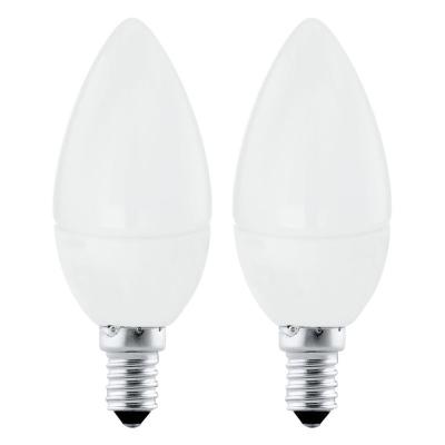 Levné Žárovky a zářivky: Sada 2 x LED žárovka, E14, 4 W, teplá bílá