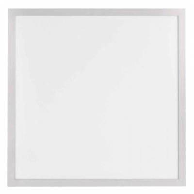 Levné Venkovní LED světla: Zápustný LED panel, 60×60cm, čtvercový, bílý, 40W, neutrální bílá, IP44