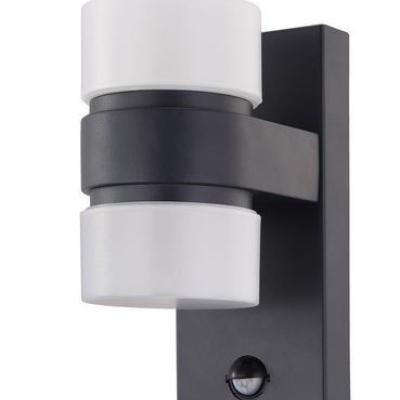 Levné Venkovní LED světla: LED venkovní nástěnné svítidlo s čidlem ATOLLARI