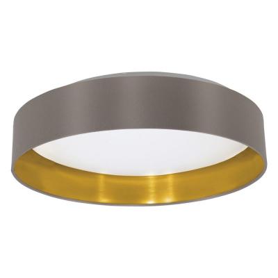 Levné Přisazené LED lustry: LED stropní osvětlení MASERLO, 16W, teplá bílá, 40,5cm, kulaté, kapučinové