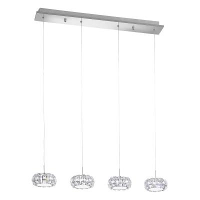 Levné Lustry a závěsná svítidla: LED závěsné designové osvětlení nad jídelní stůl CORLIANO
