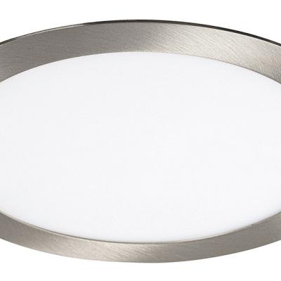 Levné Stropní svítidla: Zápustné a přisazené LED panely LOIS, chromované