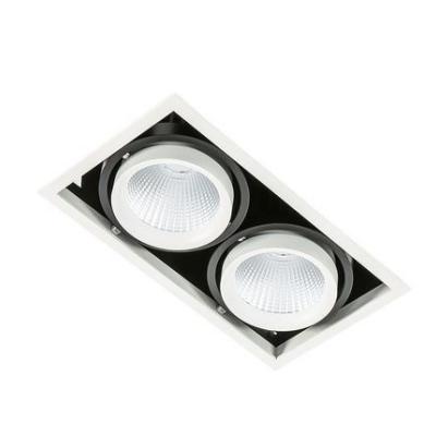 Levné Stropní svítidla: LED vestavné stropní bodové svítidlo VERTICO DOUBLE 3000K