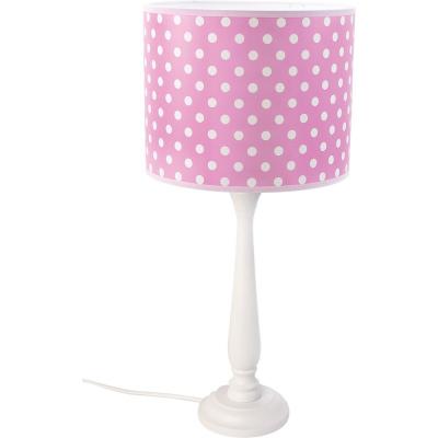 Levné Dětské lampičky: Stolní dětská lampička BERTA, puntíky