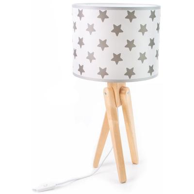 Levné Dětské lampičky: Stolní dětská lampa trojnožka TRIVET, hvěždičky