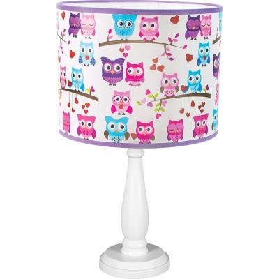 Levné Dětské lampičky: Stolní dětská lampička TINA2, sovičky