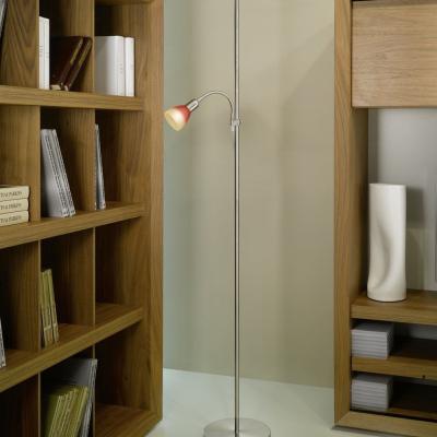Levné Lampy a lampičky: Lampa stojací UP 4, červená