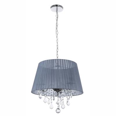 Levné Lustry na řetězu: Závěsný lustr na řetězu LANI, stříbrný