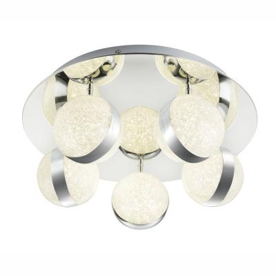 Levné Stropní svítidla: Stropní bodové LED osvětlení TOBIAS, 3x10W, denní bílá, 45cm, kulaté