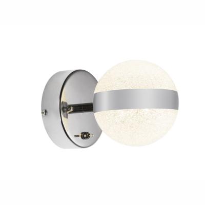 Levné Nástěnná svítidla: Bodové nástěnné LED svítidlo TOBIAS