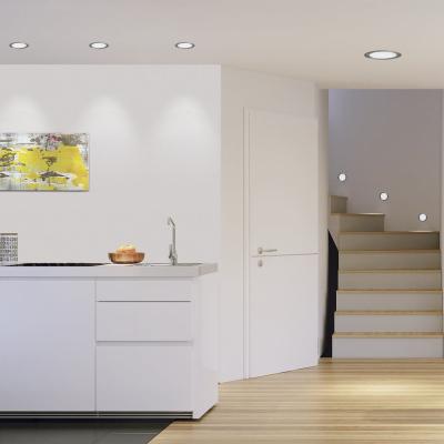 Levné Stropní svítidla: Stropní podhledové LED světlo FUEVA 1, kulaté