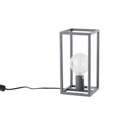 Levné Stolní lampy a lampičky: Stolní lampa SIGALO, šedá