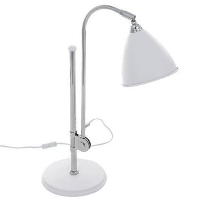 Levné Lampy a lampičky: Stolní lampa EVATO, bílá