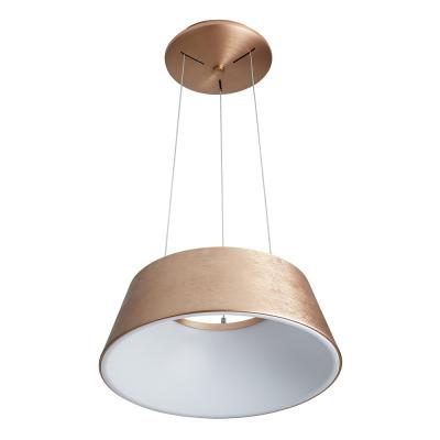 Levné Závěsné LED lustry: Závěsné LED moderní světlo LUNGA, zlatohnědé