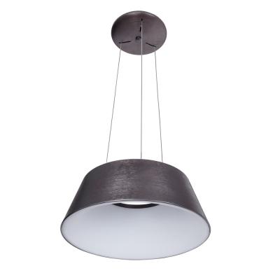 Levné Závěsné LED lustry: Závěsné LED moderní světlo LUNGA, hnědé