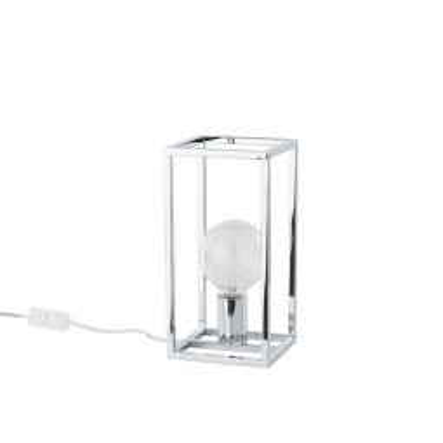 Levné Lampy a lampičky: Stolní lampa SIGALO, chromovaná