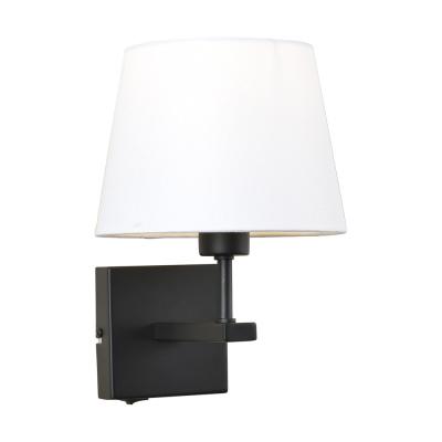 Levné Nástěnná svítidla: Nástěnná lampa s vypínačem NORTE, bílá