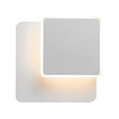 Levné Stropní svítidla: LED stropní / nástěnné moderní osvětlení SENATO, hranaté, bílé