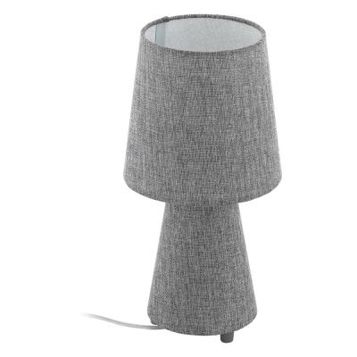 Levné Lampy a lampičky: Moderní stolní lampa CARPARA, šedá