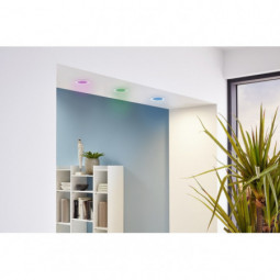 Levné Stropní svítidla: LED zápustné svítidla-set FUEVA-C, bílé