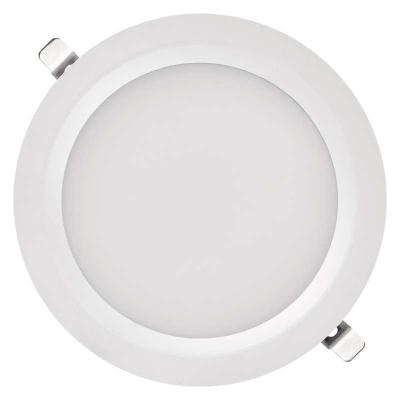 Levné Stropní svítidla: LED vestavné stropní osvětlení do koupelny PROFI PLUS, 24W, denní bílá, 22cm, kulaté