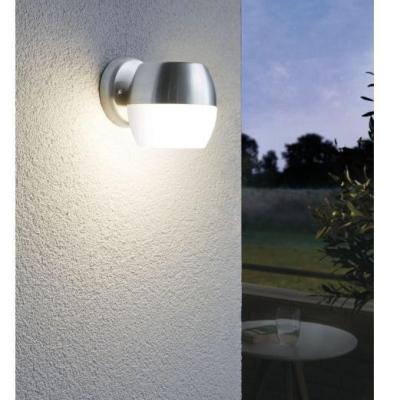 Levné Venkovní LED světla: Venkovní nástěnné LED světlo ONCALA, stříbrné