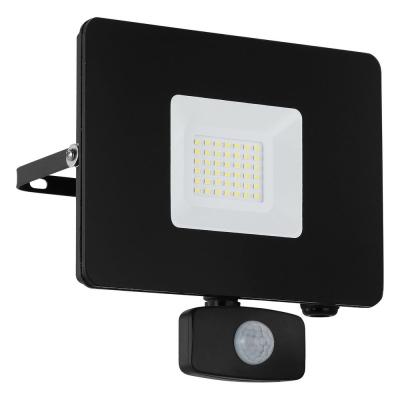 Levné Venkovní LED světla: Venkovní LED reflektor v moderním stylu FAEDO 3, černý, 30W, čidlo