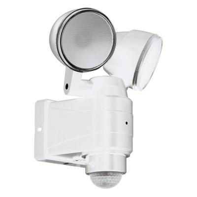 Levné Venkovní LED světla: Venkovní LED nástěnné dvoubodové svítidlo CASABAS, bílé
