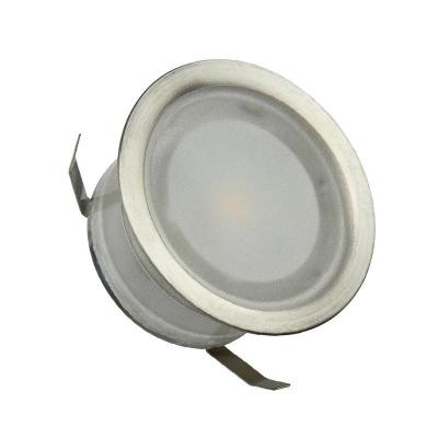 Levné Stropní svítidla: LED venkovní zápustné svítidlo NEDES 2, 0,4W, 60lm, kulaté, teplá bílá