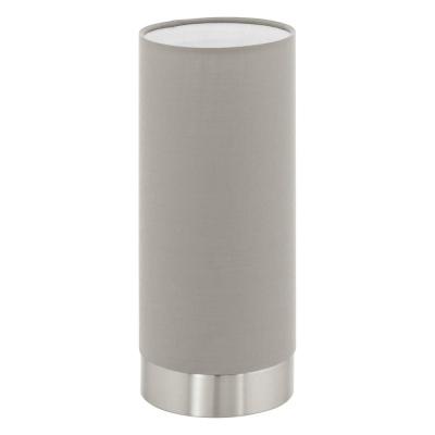 Levné Lampy a lampičky: Moderní stolní lampička PASTERI, šedohnědá