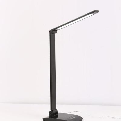 Levné Stolní LED lampy: LED stmívatelná stolní lampička, černá