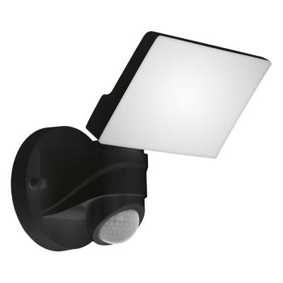 Levné Venkovní LED světla: Venkovní nástěnné LED svítidlo PAGINO, čtverec, černé