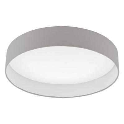 Levné Stropní svítidla: Stropní LED osvětlení POLOMARO, 24W, teplá bílá, 50m, kulaté, šedohnědé