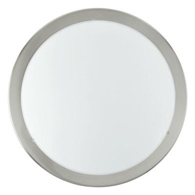 Levné Stropní svítidla: Stropní / nástěnné osvětlení do ložnice PLANET, 2xE27, 60W, 37cm, kulaté, stříbrné
