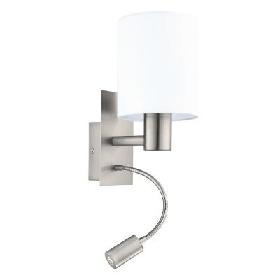 Levné Nástěnná svítidla: Nástěnné světlo s LED světýlkem PASTERI, bílé