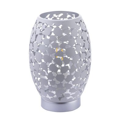 Levné Stolní lampy a lampičky: Designová stolní lampa HANNY, bílá