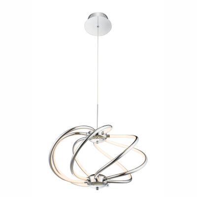 Levné Závěsné LED lustry: Designový LED lustr WAVE