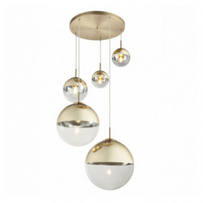 Levné Lustry a závěsná svítidla: Moderní závěsné světlo VARUS, zlatá
