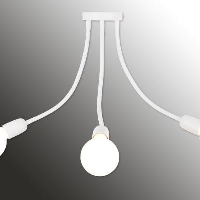 Levné Stropní svítidla: Stropní tříramenné svítidlo GALILEO 3 B, bílé