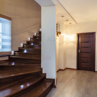 Levné Nástěnná svítidla: Vestavné LED osvětlení schodiště SABIK, 4000K, 14lm, černé