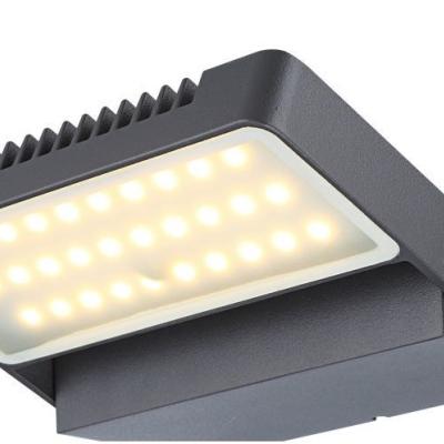 Levné Venkovní LED světla: Venkovní nástěnné LED osvětlení CHANA, 680lm, 3000K, IP44