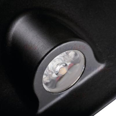 Levné Nástěnná svítidla: Vestavné LED osvětlení schodiště NEMETO, 4000K, 35lm, černé