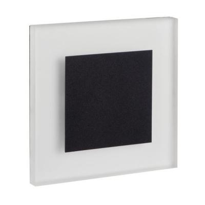 Levné Nástěnná svítidla: Vestavné LED osvětlení schodiště SONOS P68, 3000K, 13lm, černé