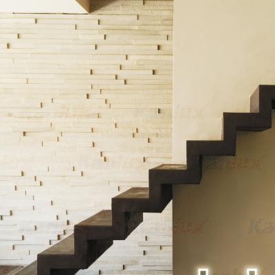 Levné Nástěnná svítidla: Vestavné LED osvětlení schodiště s čidlem APUS PIR, 3000K, 13lm, nerezové