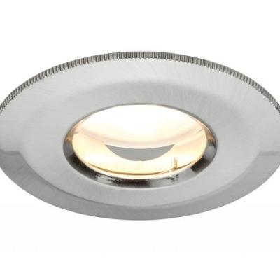Levné Stropní svítidla: Zápustné svítidlo LED COIN satin, sada 3x