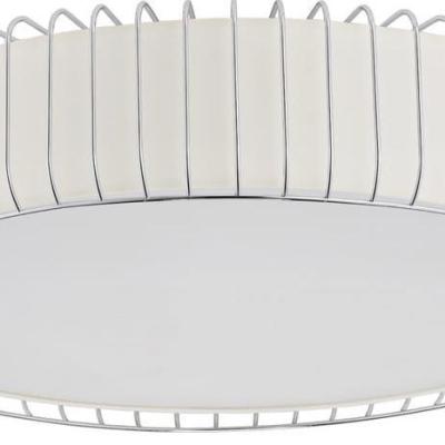 Levné Stropní svítidla: Stropní přisazené osvětlení RODOLFO, E27, 6 x 60W, 43cm, kulaté, bílé